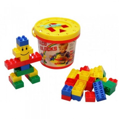 Faco Blocks Bucket 33pcs BEST BUY