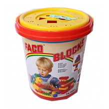 Faco Blocks Bucket 100pcs BEST BUY