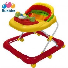 Bubbles - Baby Walker Sunny Red