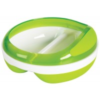 Oxo Tot - Divided Feeding Dish (Green)