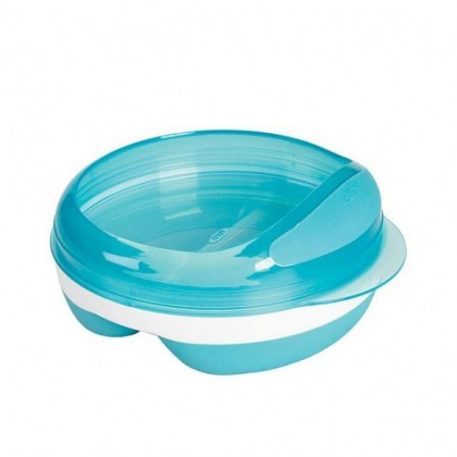 Oxo Tot - Divided Feeding Dish (Blue)