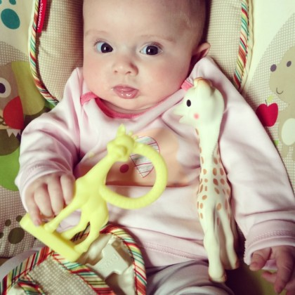 Sophie - The Girafffe Vanilla Teether