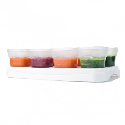 Autumnz Easy  Baby Food Storage Cups 2oz White