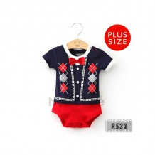 Holabebe - Little Baby Suit Blue Romper