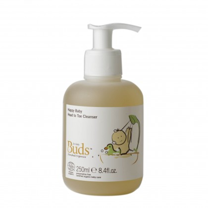 Buds Cherished Organics - Happy Baby Head To Toe Cleanser 250ml