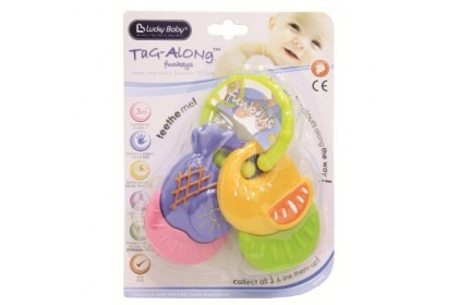 Lucky Baby - Tag Along Funkeys Fruits Teether Ring