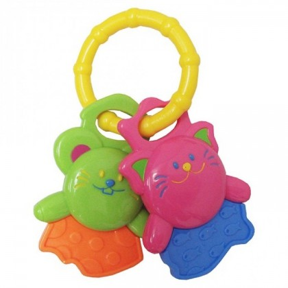 Lucky Baby - Tag Along Funkeys Animal Teether