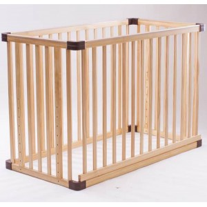 Jarrons & Co. Happy Sleep 5-in-1 Convertible Baby Cot (Natural)