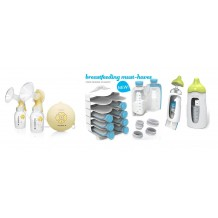 Medela - Swing Maxi + Kiinde Breast Feeding Starter Kit
