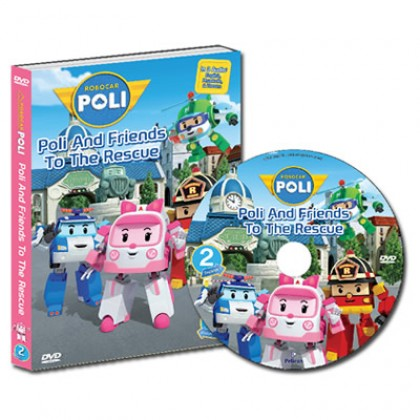 Robocar Poli DVD No. 02 Poli and Friends to the Rescue