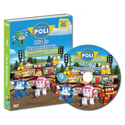 Robocar Poli DVD No. 09 Life in Broomstown