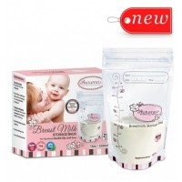 Autumnz - Double ZipLock Breastmilk Storage Bag (25 bags) (12oz/350ml) *1Box*