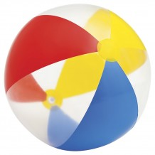 "Intex - Glossy Panel Beach Ball Tranparance 24"" - BEST BUY"