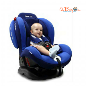 Sparco F2000K Convertible Car Seat Red/Blue (0-25kg)