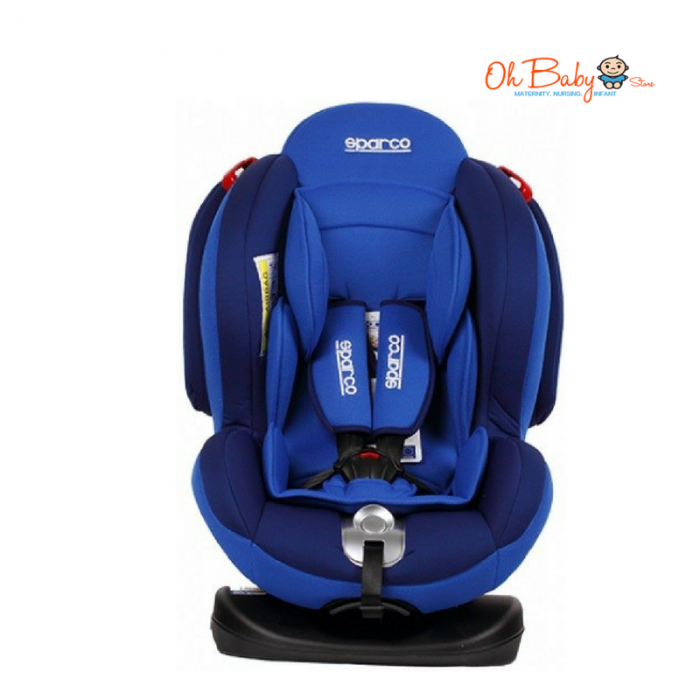 Sparco F2000K Convertible Car Seat Red Blue 0 25kg