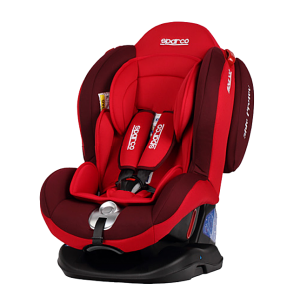 Sparco - F2000K Convertible Car Seat Red/Blue (0-25kg)