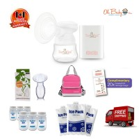 Tiny Touch - Mini Portable Electric Single Breast Pump Package