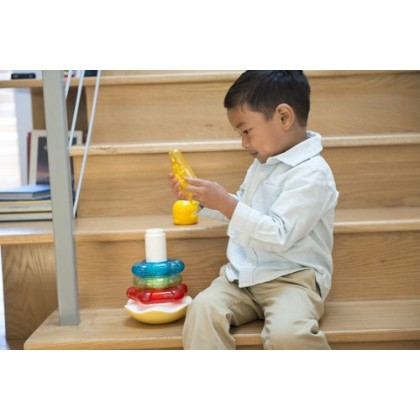 Piyo Piyo - Fun Figure Rattle Stacker