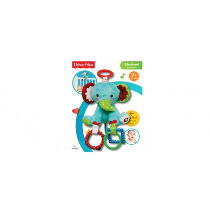 Fisher Price - Hanging Plus Elephant 6""