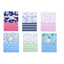 Autumnz - Flannel Receiving Blanket 2pcs