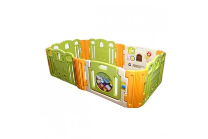Haenim - Baby Play Yard  6 + 6 Panel With Melody (Cloud Bread)