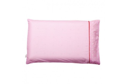 Clevamama - Replacement Baby Pillow Case - Pink