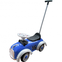 Sweet Heart Paris - Tolocar / Ride On Car with Push Bar TL610W  (BLUE)