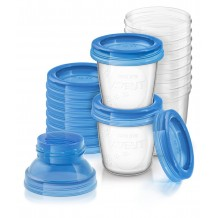 Avent - Breast Milk Storage Cup 10 x 180ml
