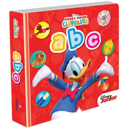 Disney Junior - New Padded Board Book ABC