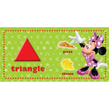 Disney Junior - New Padded Board Book Shapes