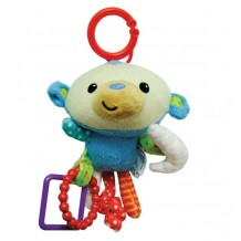 Fisher Price - Hanging Plush Monkey 6""