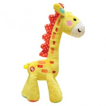 Fisher Price - Basic Plush Toy Giraffe 10.5""