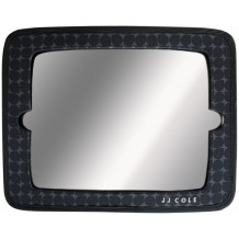 JJ Cole Collections - 2 in 1 Mirror (Grey Drop)