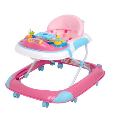 Sweet Heart Paris - Little Driver Walker (Pink)