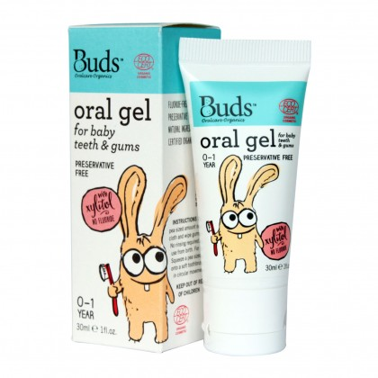 Buds Oral Gel For Baby Teeth & Gums 30ml