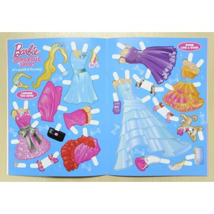 Barbie - Gorgeous Gala Dress Up Doll Kit