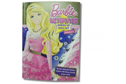 Barbie - Ultimate Dress Up Doll Kit Volume 2