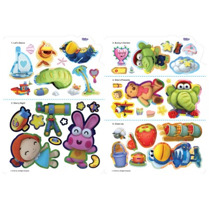 Dibo - I am Dibo, The Gift Dragon: A Sticker Scene Book