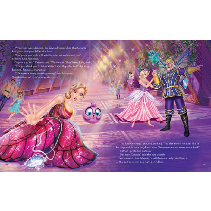 Barbie Mariposa And The Fairy Princess A Storybook