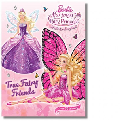 Barbie Mariposa and the Fairy Princess: A Sticker Storybook