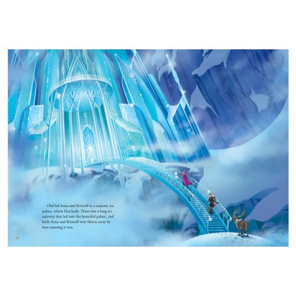 Disney Frozen - An Icy Adventure Storybook with 3D Scene Box Set