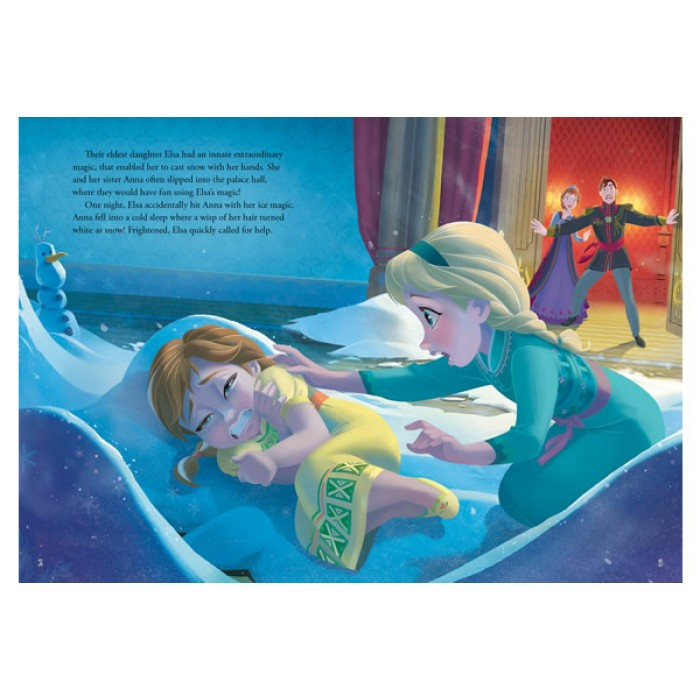 Disney Frozen A Magical Tale Storybook With 3d Scene Box Set