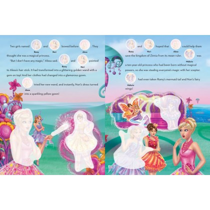 Barbie And The Secret Door: A True Princess Sticker Storybook