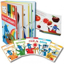 Baby Einstein - First Colours Sleeve Book Set (6 books in 1)