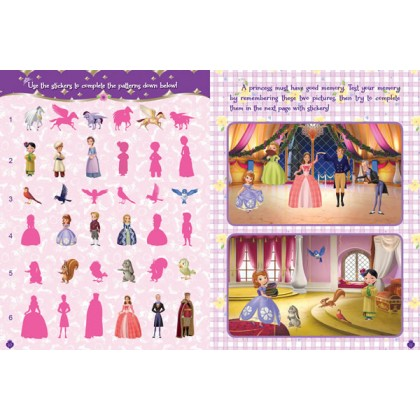 Sofia the First: A Princess's Life Sticker Activity Book