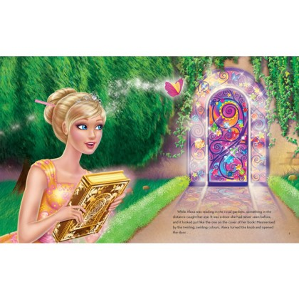 Barbie And The Secret Door: A Storybook with Paper Dolls
