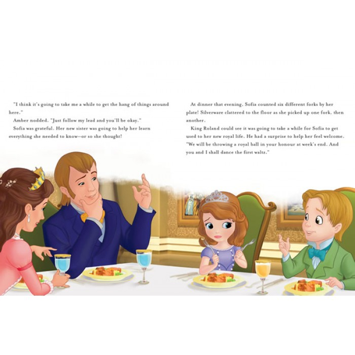 Sofia The First Once Upon A Princess Read Along Storybook
