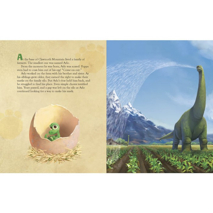 Disney Pixar The Good Dinosaur Read Along Storybook And Cd
