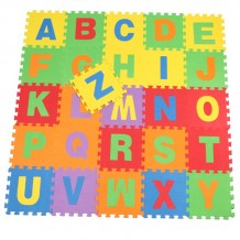Lovable Soft Foam Puzzle Play Mat - Alphabet A-Z