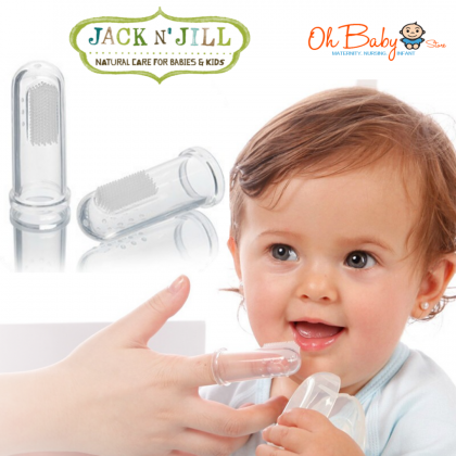 Jack N' Jill - Silicone Finger Toothbrush 2pack